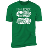 Born Too Early and Too Late - T-Shirt-T-Shirt-CustomCat-Men's T-Shirt-Kelly Green-S