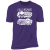 Born Too Early and Too Late - T-Shirt-T-Shirt-CustomCat-Men's T-Shirt-Purple-S