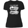 Born Too Early and Too Late - T-Shirt-T-Shirt-CustomCat-Women's T-Shirt-Black-X-Small