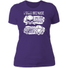 Born Too Early and Too Late - T-Shirt-T-Shirt-CustomCat-Women's T-Shirt-Purple-X-Small