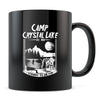 Camp Crystal Lake - 11oz/15oz Black Mug-Coffee Mug-CustomCat-11oz Mug-Black-