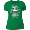 Deans Pies - T-Shirt-T-Shirt-CustomCat-Women's T-Shirt-Kelly Green-X-Small