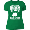Destroy Racism Like a Panda - T-Shirt-T-Shirt-CustomCat-Women's T-Shirt-Kelly Green-X-Small