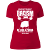 Destroy Racism Like a Panda - T-Shirt-T-Shirt-CustomCat-Women's T-Shirt-Red-X-Small
