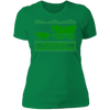 Died of Preexisting Condition - T-Shirt-T-Shirt-CustomCat-Women's T-Shirt-Kelly Green-X-Small