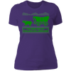 Died of Preexisting Condition - T-Shirt-T-Shirt-CustomCat-Women's T-Shirt-Purple-X-Small