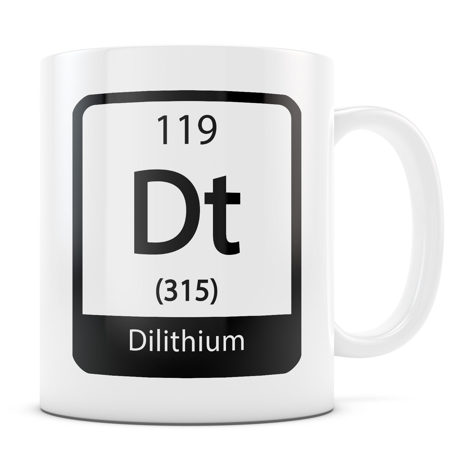 Dilithium - 11oz/15oz White Mug-Coffee Mug-CustomCat-11oz Mug-White-