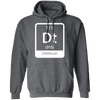 Dilithium Periodic Symbol - Hoodie-Hoodie-CustomCat-Dark Heather-S-