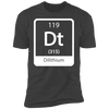 Dilithium Periodic Symbol - T-Shirt-T-Shirt-CustomCat-Men's T-Shirt-Heavy Metal-S