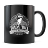 Dixon Hill - 11oz/15oz Black Mug-Coffee Mug-CustomCat-11oz Mug-Black-