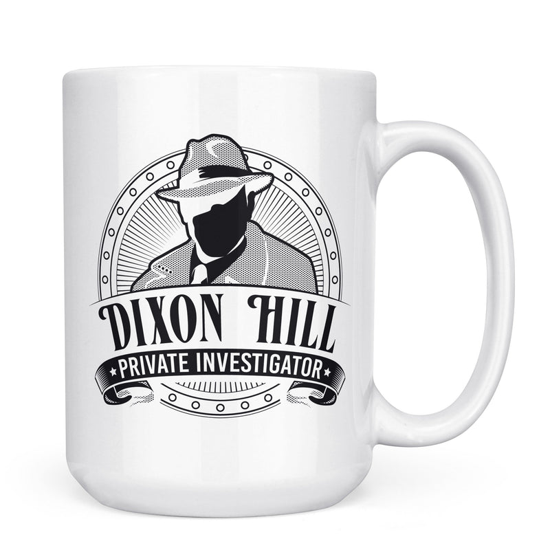 Dixon Hill - 11oz/15oz White Mug-Coffee Mug-CustomCat-11oz Mug-White-