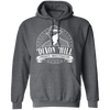 Dixon Hill Private Investigator - Hoodie-Hoodie-CustomCat-Dark Heather-S-