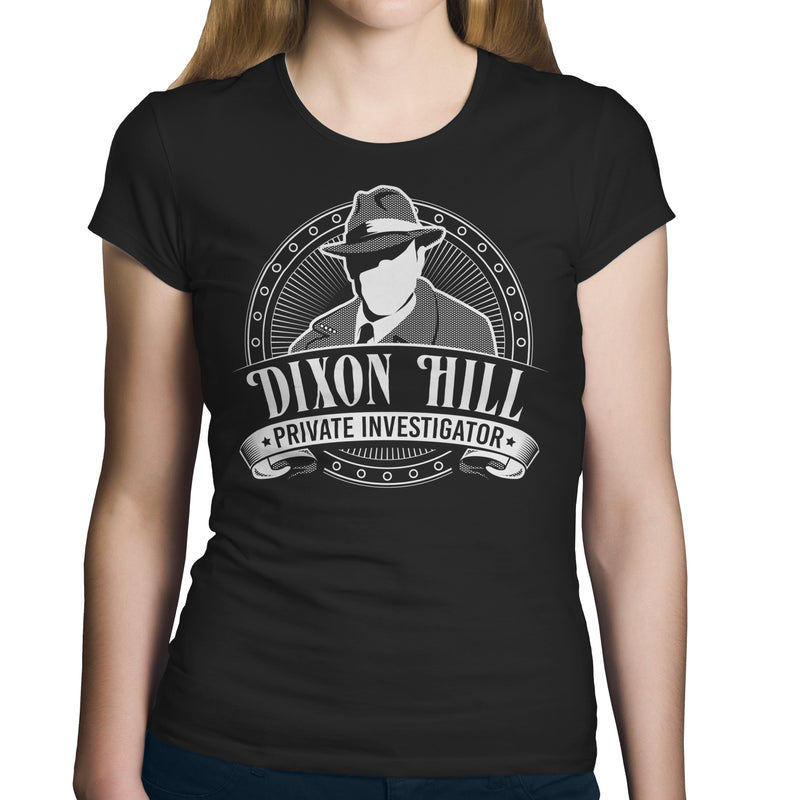 Dixon Hill Private Investigator - T-Shirt-T-Shirt-CustomCat-
