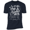 Fun and Games Until Act II - T-Shirt-T-Shirt-CustomCat-Men's T-Shirt-Midnight Navy-S