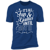 Fun and Games Until Act II - T-Shirt-T-Shirt-CustomCat-Men's T-Shirt-Royal Blue-S