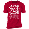 Fun and Games Until Act II - T-Shirt-T-Shirt-CustomCat-Men's T-Shirt-Red-S