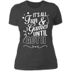 Fun and Games Until Act II - T-Shirt-T-Shirt-CustomCat-Women's T-Shirt-Heavy Metal-X-Small
