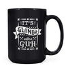 Glinda with a Guh - 11oz/15oz Black Mug-Coffee Mug-CustomCat-15oz Mug-Black-