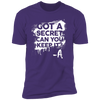 Got a Secret - T-Shirt-T-Shirt-CustomCat-Men's T-Shirt-Purple-S