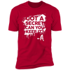 Got a Secret - T-Shirt-T-Shirt-CustomCat-Men's T-Shirt-Red-S
