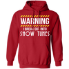 I Break Out Into Show Tunes - Hoodie-Hoodie-CustomCat-Red-S-