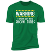 I Break Out Into Show Tunes - T-Shirt-T-Shirt-CustomCat-Men's T-Shirt-Kelly Green-S