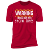 I Break Out Into Show Tunes - T-Shirt-T-Shirt-CustomCat-Men's T-Shirt-Red-S