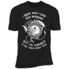 I Knew Who I Was This Morning - T-Shirt-T-Shirt-CustomCat-Men's T-Shirt-Black-S