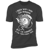 I Knew Who I Was This Morning - T-Shirt-T-Shirt-CustomCat-Men's T-Shirt-Heavy Metal-S