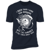 I Knew Who I Was This Morning - T-Shirt-T-Shirt-CustomCat-Men's T-Shirt-Midnight Navy-S