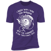 I Knew Who I Was This Morning - T-Shirt-T-Shirt-CustomCat-Men's T-Shirt-Purple-S