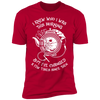 I Knew Who I Was This Morning - T-Shirt-T-Shirt-CustomCat-Men's T-Shirt-Red-S