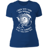 I Knew Who I Was This Morning - T-Shirt-T-Shirt-CustomCat-Women's T-Shirt-Royal Blue-X-Small