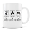 I Survived the Fire Swamp - 11oz/15oz White Mug-Coffee Mug-CustomCat-11oz Mug-White-