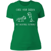 Inevitable Betrayal - T-Shirt-T-Shirt-CustomCat-Women's T-Shirt-Kelly Green-X-Small