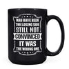 Losing Side - 11oz/15oz Black Mug-Coffee Mug-CustomCat-15oz Mug-Black-