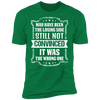 Losing Side Not the Wrong One - T-Shirt-T-Shirt-CustomCat-Men's T-Shirt-Kelly Green-S