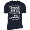 Losing Side Not the Wrong One - T-Shirt-T-Shirt-CustomCat-Men's T-Shirt-Midnight Navy-S
