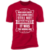 Losing Side Not the Wrong One - T-Shirt-T-Shirt-CustomCat-Men's T-Shirt-Red-S