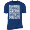 Many Names of David Ryder - T-Shirt-T-Shirt-CustomCat-Men's T-Shirt-Royal Blue-S