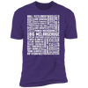 Many Names of David Ryder - T-Shirt-T-Shirt-CustomCat-Men's T-Shirt-Purple-S