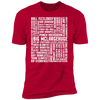Many Names of David Ryder - T-Shirt-T-Shirt-CustomCat-Men's T-Shirt-Red-S