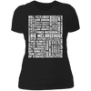 Many Names of David Ryder - T-Shirt-T-Shirt-CustomCat-Women's T-Shirt-Black-X-Small