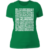 Many Names of David Ryder - T-Shirt-T-Shirt-CustomCat-Women's T-Shirt-Kelly Green-X-Small