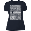 Many Names of David Ryder - T-Shirt-T-Shirt-CustomCat-Women's T-Shirt-Midnight Navy-X-Small