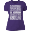 Many Names of David Ryder - T-Shirt-T-Shirt-CustomCat-Women's T-Shirt-Purple-X-Small