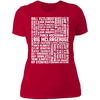 Many Names of David Ryder - T-Shirt-T-Shirt-CustomCat-Women's T-Shirt-Red-X-Small