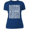 Many Names of David Ryder - T-Shirt-T-Shirt-CustomCat-Women's T-Shirt-Royal Blue-X-Small