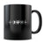 MMO Heartbeat - 11oz/15oz Black Mug-Coffee Mug-CustomCat-11oz Mug-Black-