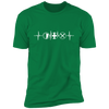 MMO Heartbeat - T-Shirt-T-Shirt-CustomCat-Men's T-Shirt-Kelly Green-S